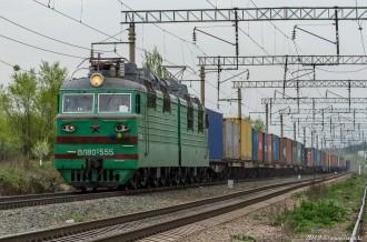 ВЛ80С-555, Алматинская область, 15.04.19г