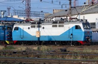 ВЛ40М-233-1 на станции Шу, 09.10.19г