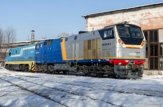 ТЭП33А-0014 и CKD6E-2089, 26.12.19г