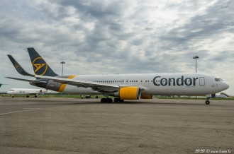 D-ABUT Boeing 767, Condor Airlines, 05.05.20