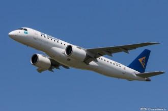 P4-KHD Embraer E190-E2, Air Astana, 05.05.2020