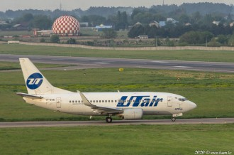 VP-BYM Boeing 737 UTair, 17.05.2020