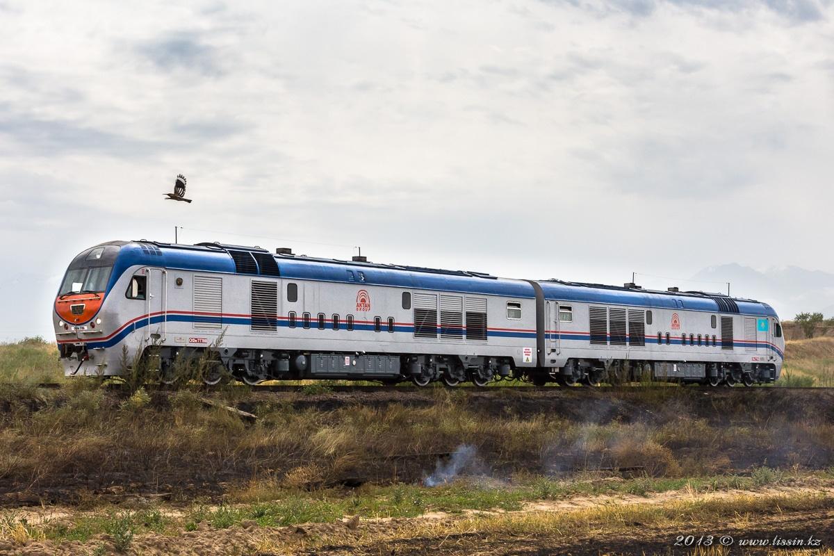 CKD9C-7778 на участке ТЭЦ-2 - Бурундай, 24.08.13г. #1