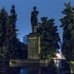 Памятник Чокану Валиханову, 05.04.14г.