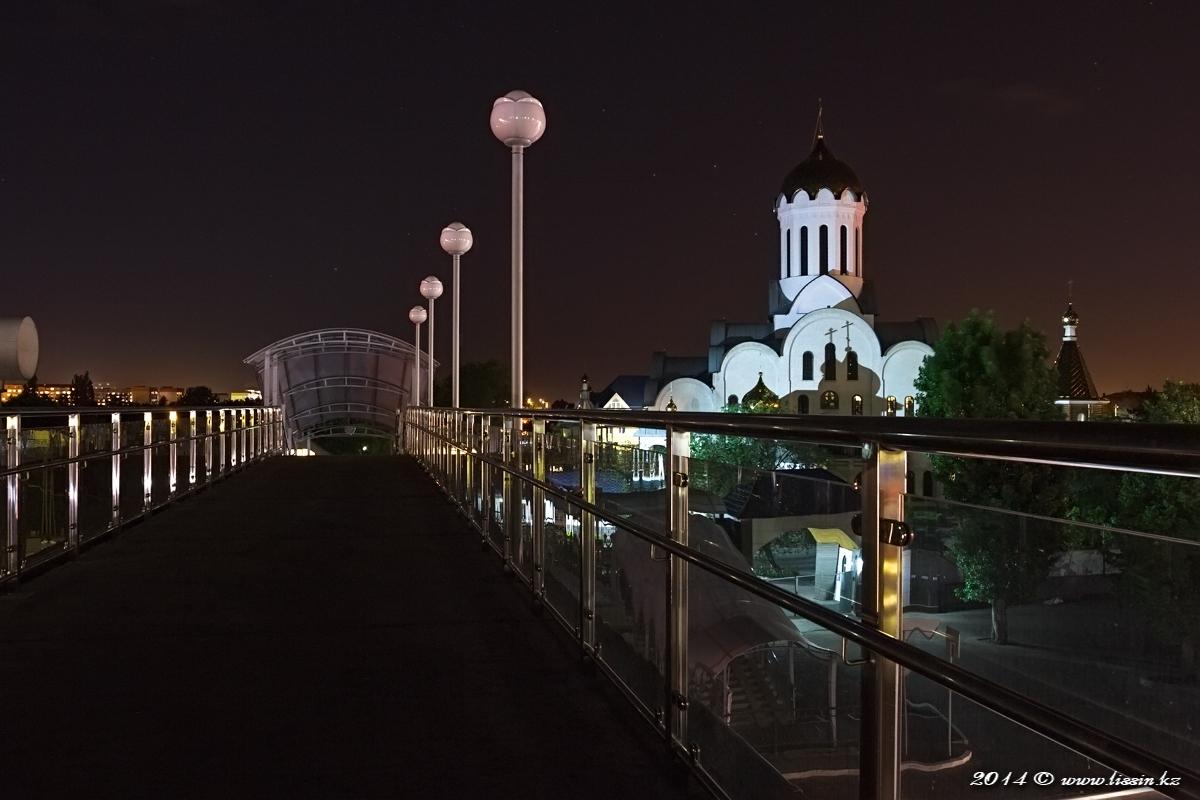 Дорога к Храму Христа спасителя в Алма-Ате, 24.05.14г.