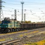 Промышленный электровоз EL21-223, 05.09.14г.