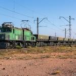Промышленный электровоз EL21-051, 30.08.14г.