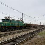 Промышленный электровоз EL21-223, 01.05.16г.