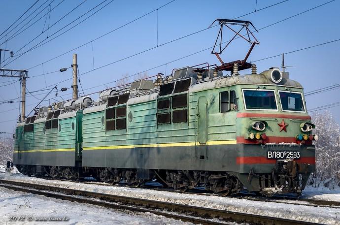 ВЛ80С-2593, 05.12.12г