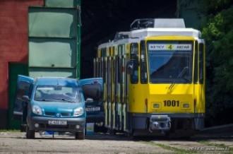 Tatra KT4DtM № 1001, 29.05.13г