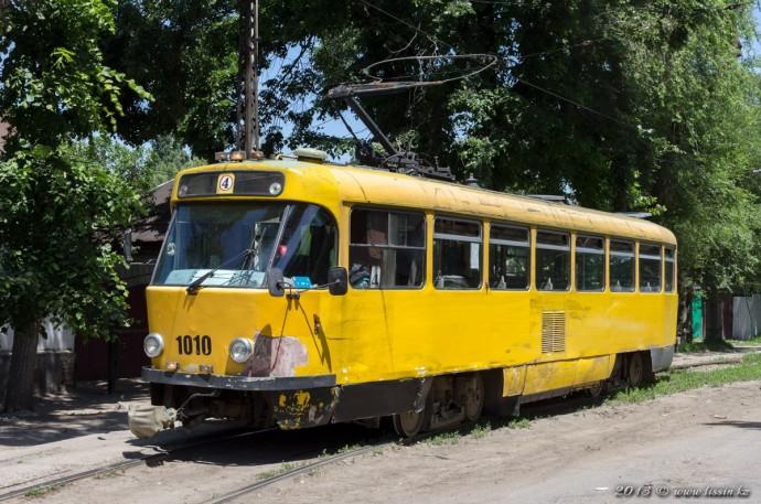Tatra T3DC №1010, 29.05.13г