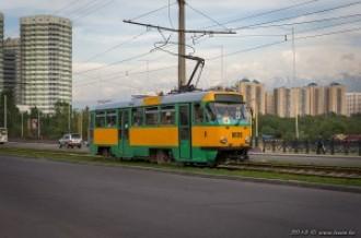 Tatra T3DC №1025, 16.05.13г