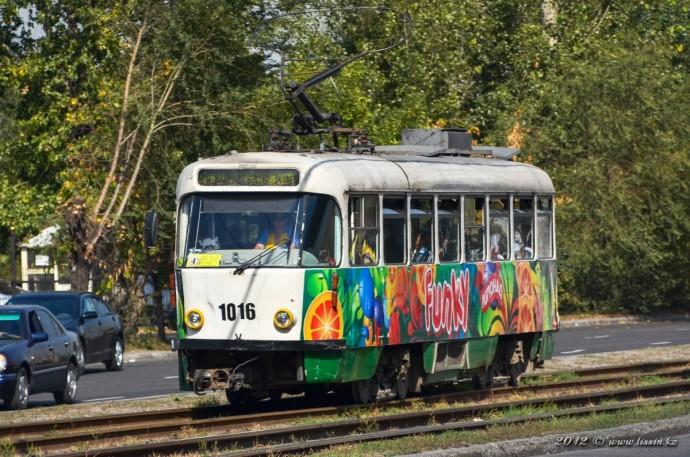 Tatra T4D-MS, №1016, 29.09.12г