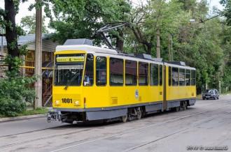Tatra KT4DtM №1001, 23.07.13г