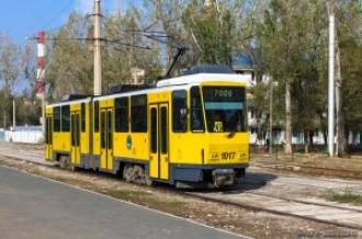 Tatra KT4DtM №1017, 29.10.13г