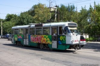 Tatra T3DC №1027, 15.08.13г