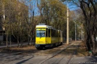 Tatra KT4DtM №1013, 29.10.13г