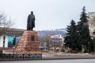 Памятник Абаю, 13.12.13г