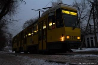 Tatra KT4DtM №1013, 24.12.13г