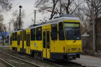 Tatra KT4DtM №1007, 03.04.14г