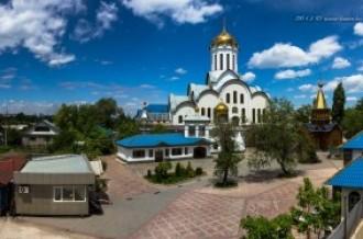 Храм Христа Спасителя в Алматы, 22.05.14г