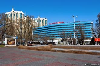 Гостиница «Алматы», 07.04.14г