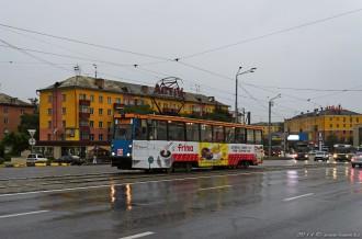 Усть-Каменогорский трамвай, КТМ 71-605 № 82, 03.07.14г