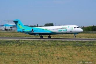 UP-F1007 Fokker F100, 27.07.14г