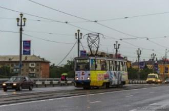Усть-Каменогорский Трамвай, КТМ 71-605 № 9, 03.07.14г