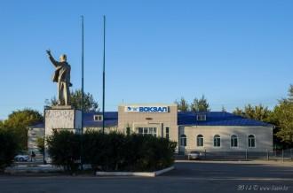 Станция Есиль, 04.09.14г