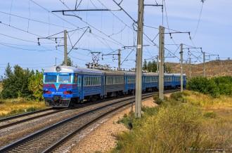 Электропоезд ЭР9МР-588, 06.09.14г