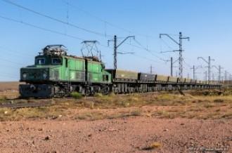 Промышленный электровоз EL21-051, 30.08.14г