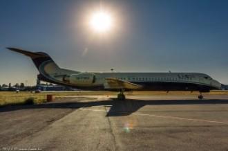 UP-F1003 Fokker F100, 12.08.14г