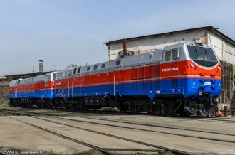 ТЭ33АС-0004 и ТЭ33АС-0010, 23.03.15г