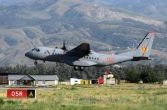 Airbus Military C-295M, 02 красный, 12.08.14г