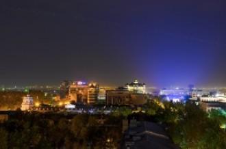 Пролетая над Алматы, 03.07.15г