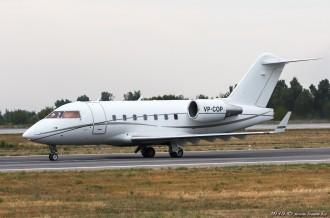 VP-COP Bombardier CL-600, 31.07.15