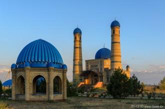 Мечеть в селе Аксенгир, 05.09.15г
