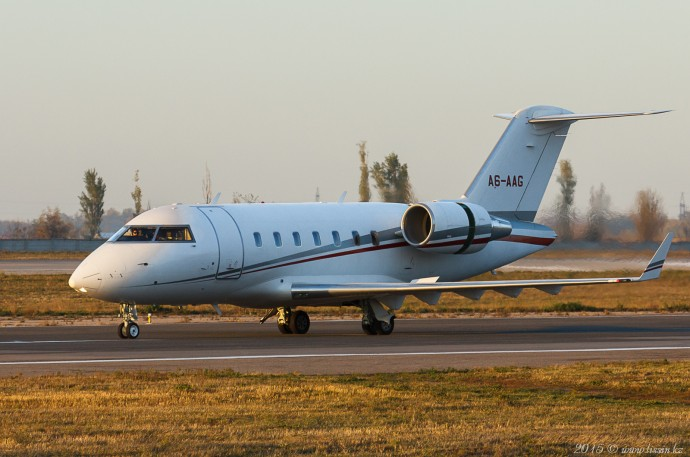 A6-AAG Challenger 605, 25.10.15