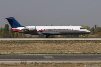 M-TAKE Canadair CL-600, 01.10.15