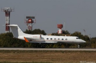 N888DC Gulfstream G450, 01.10.15