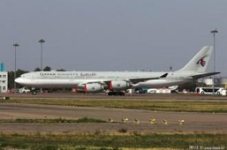 A7-HHH Airbus A340, 01.10.15