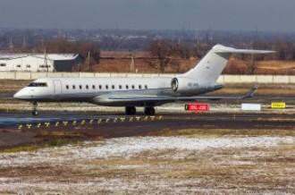 OE-IVG Bombardier BD-700, 16.11.15