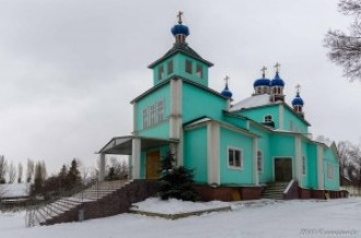 Храм святителя Николая Чудотворца г. Талгар, 20.12.15г