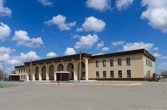 Станция Кандыагаш, Актюбинская область, 30.04.15г