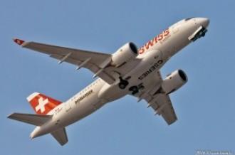 C-GWXZ Bombardier CS100, 23.02.16