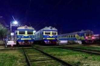 ЭР22-51, ЭР22-64 и ЭР22-34, Степногорск, 24.04.16г.