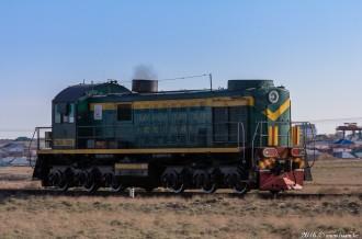 ТЭМ2-7095 в Байконуре, 11.04.16г