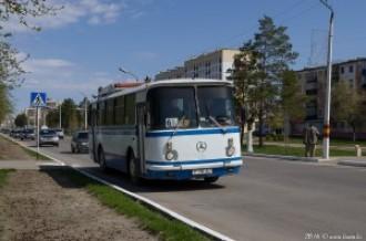 ЛАЗ-695 P718AU г. Рудный, 27.04.16г
