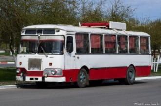 ЛиАЗ-677 P511VYM, г. Рудный, 27.04.16г